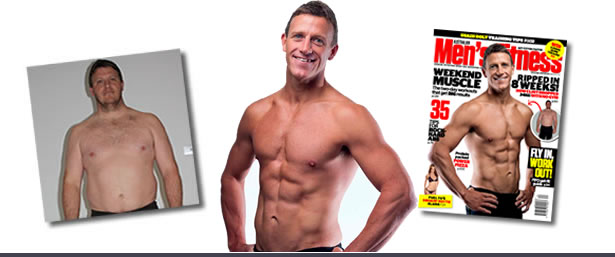 ORIGINAL BOOTCAMP Transformation - Clint in Mens Fitness Magazine