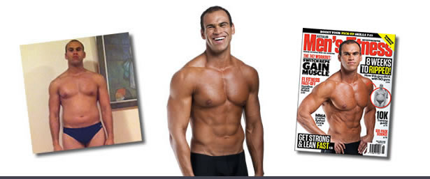 ORIGINAL BOOTCAMP Transformation - Rami in Mens Fitness Maagzine